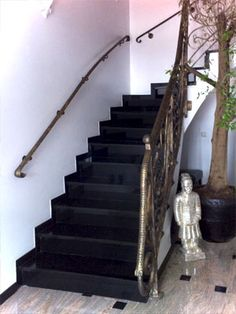 treppen aus granit treppenstufen granittreppe treppe pinterest granit treppenstufen. Black Bedroom Furniture Sets. Home Design Ideas
