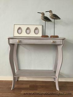 como hacer una veladura acrílica. Paso a paso, un acabado diferente, elegante simplemente velando el color anterior de tus muebles.