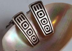 Modernist Uni David-Andersen Norway. Silver by RetroStilig on Etsy