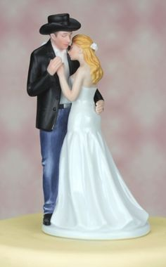 ¨Old Fashion Lovin¨ Western Wedding Cake Topper