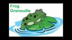 Learning English and French - Lesson on Animals