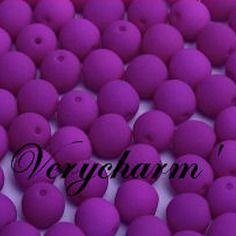 Perles de bohême neon purple