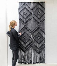 Throwback to these amazing commissioned black curtains I've created a while ago.  I still have some of this special Dutch produced black…