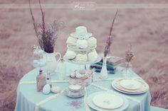 Robin's Egg and Lavender    ~ ♥ #color #design #decor