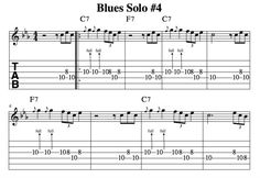 Blues Solo #4