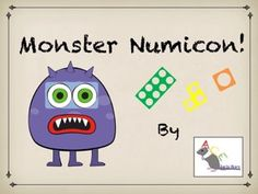 A simple game to introduce Numicon and support recognition of each piece! Fun monsters support counting to 10! #eyfs #earlyyears #earlyyearsmaths #numicon #aceearlyyears