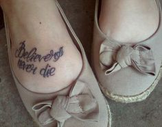 Fall Out Boy inspired tattoo.