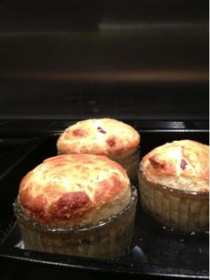 Smoked haddock & pancetta souffles. Lovely, fluffy, beautiful things. Really pleased - these are my first ever souffles.