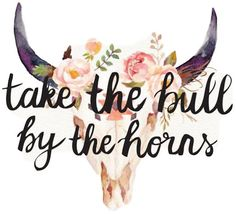 Buy 'Take the bull by the horns' by as a Sticker, Transparent Sticker, or Glossy Sticker Silhouette Projects, Silhouette Design, Diy Tumblers, Horse Quotes, Printable Designs, Printables, Tumbler Designs, Fb Covers, Water Slides