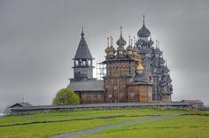 Eglise de la transfiguration, ile de Kiji, République de Carélie (Fédération de Russie)