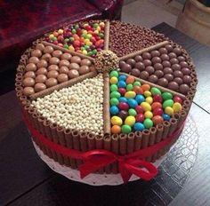 Foto: 好強大的巧克力蛋糕