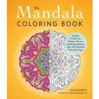 Because sometimes a person just needs to color! It's so relaxing! The Mandala Coloring Book | AdamsMediaStore.com