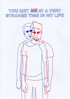 """""""You met me at a strange time in my life"""" via Brittany Victoria #tumblr #fightclub"""