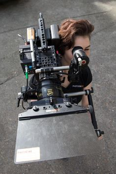 Red Element Epic Cage System with Top Handle and EVF.