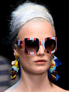 10 Trends for Spring 2013: SUNGLASSES from Dolce & Gabbana.
