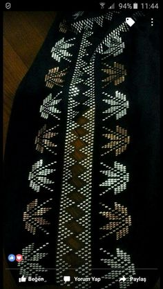This Pin was discovered by HUZ Viking Tattoo Design, Viking Tattoos, Crepe Silk Sarees, Moda Emo, Embroidery Motifs, Sunflower Tattoo Design, Homemade Beauty Products, Weaving Patterns, Bargello