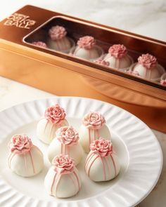 Shop Pink Roses Cake Balls from Austin Cake Ball at Horchow, where you'll find new lower shipping on hundreds of home furnishings and gifts. Cream Cheese Buttercream, Caramel Buttercream, Valentine Cake, Valentines Day Food, Pink Rose Cake, Pink Roses, Mini Cakes, Cupcake Cakes, Salted Caramel Cake