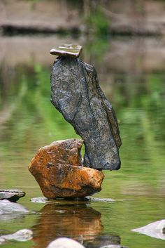 river stones in balance by Eifeelgood, via Flickr