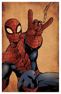 Superhero Inspired Poster set Superman Batman by PosterForum