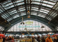 Cologne Main Train Station - Germany