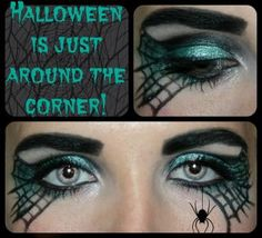 Halloween face paint using Younique Moodstruck Mineral Eye Pigments.  Get yours at www.lashesandlipgloss.net