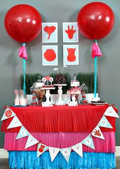 Wild About You Jungle Party with Such Cute Ideas via Kara's Party Ideas KarasPartyIdeas.com #valentinesday #bridalshower #loveparty #partyde...