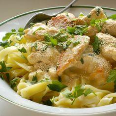 A delicious yummy fettucine recipe that is so easy to prepare