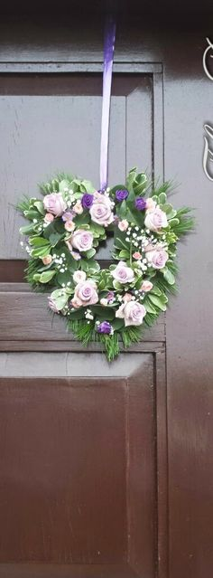 A few pics from Deirdre and George's beautiful Wedding in Slieverue, Co KK. Deirdres Bridal Bouquet was a mix of Purple, Pink and I. Church Wedding, Wedding Flowers, Floral Wreath, Bouquet, Wreaths, Bridal, Pink, Beautiful, Decor