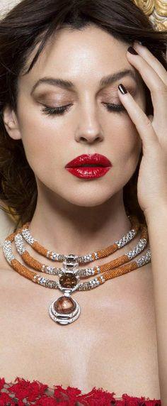Monica Bellucci wearing Cartier