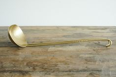 Hand-forged Brass Ladle – these are real stunners.