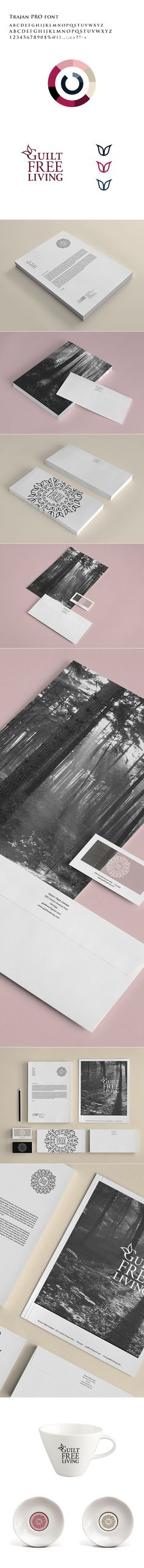 Guilt Free Living - Identity by Tamara Maksimovic, via Behance