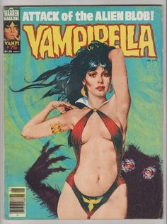 Vampirella V1 75. FN. January 1979. Warren by RubbersuitStudios #vampirella #comicbooks