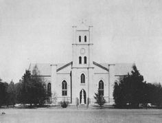 1872-1874 : 1913 : 1954, Boshof, Free State. Dutch Reformed church - My grandfather Johannes Jacob Swanepoel was christened 22 January 1905 Front elevation of the church taken after the alterations of 1913 but before the 1954 renovations  Submitted by Morné van Rooyen  Slideshow of Nederduitse Gereformeerde Kerk photos