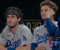 Let's Go Dodgers, Dodgers Girl, Baseball Guys, Cody Bellinger, Best Duos, Dodger Blue, Mlb Players, Go Blue, World Series