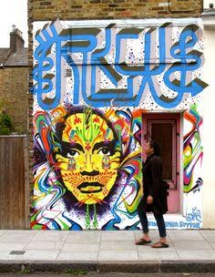 Stinkfish #street Art #streetart #graffiti