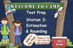 ***Just Finished***        2nd Grade Math Test PrepStation 3: Estimation & Rounding*Third in a Series of Year-End Math Test Prep ActivInspire Flipcharts*35 ?s*Can be used with Activotes or ActivExpressions*Added bonuses-EQs & GPS Standards*Most mimic CC Standards*Included in this flipchart: Rounding Numbers to the Nearest Ten, Rounding Numbers to the Nearest Hundred, Estimating Sums and Differences, Estimating 2-Digit Numbers on a Hundreds Grid, Estimation Word Problems