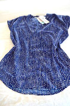 Stitch Fix Item #4 - Collective Concepts Lisette Dot Print Blouse http://thepeanutfarm.blogspot.com/search/label/Stitch%20Fix