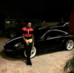 Chris Brown's cars