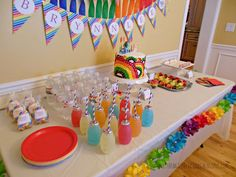 ALL THINGS DELICIOUS: Rainbow Dash Rainbow Party
