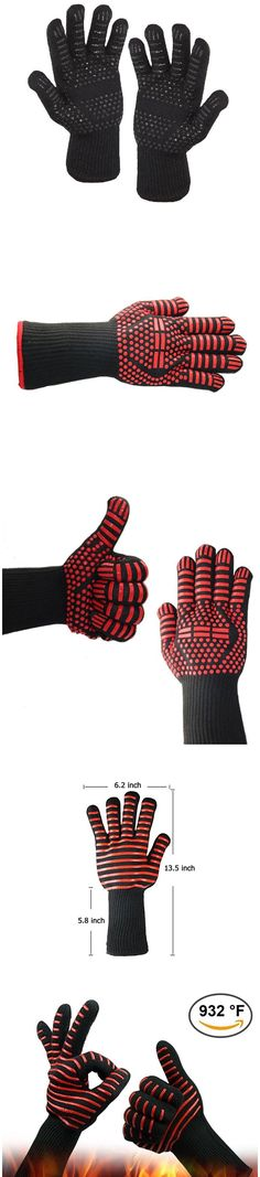 Heat Resistant Multi-Purpose Gloves – Outdoorsy Kitchen Aprons, Kitchen Towels, Kitchen Gloves, Best Camping Gear, Apron Designs, Bbq, Suits You, Pattern Design, Your Style