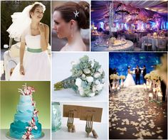 Disney | Little Mermaid themed wedding. ALKSDGJALSKJDGLASKJGD!  Kim just hit the jackpot.
