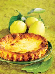 Il Fiadone corso, dolce di formagio e limone