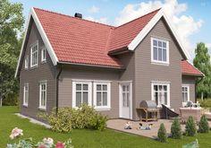 Sandvig - enebolig fra Block Watne Siding Colors, Grey Houses, House Paint Exterior, House Painting, Garage Doors, Outdoor Decor, Home Decor, Exterior Houses, Facades