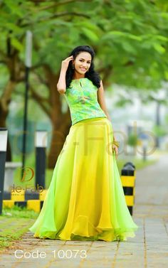 bright is the new trend. Indian Gowns Dresses, Pakistani Dresses, Indian Outfits, Evening Dresses, Lehnga Dress, Dress Skirt, Indian Skirt, Indian Designer Wear, Indian Fashion