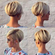 60 Chic Short Bob & Haircuts for Women, 60 Chic Short Bob Hairstyles & Haircuts for Women Girls Short Haircuts, Bob Haircuts For Women, Short Hairstyles For Women, Hairstyle Short, Popular Haircuts, Ladies Hairstyles, Everyday Hairstyles, Decent Hairstyle, Beehive Hairstyle