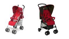 2 sillas de paseo para bebés por 50 y 70 Euros