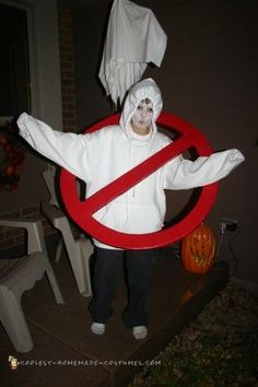 Cool Ghost Busters Symbol Costume