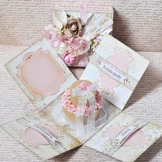 Raspberry and Chocolate Wedding Cake (inside) *DT Scrap Market - Scrapbook.com