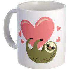 Sloth 3 Mug Mug by CafePress CafePress http://www.amazon.com/dp/B00D4GOJFE/ref=cm_sw_r_pi_dp_EqiQtb1A4XDZH94E