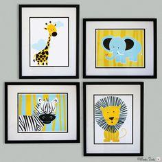 Nursery wall art baby nursery decor nursery print by MonkieBirdie, $89.95